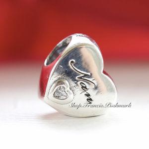 Pandora Nan's Love Sterling Silver Charm 797031CZ
